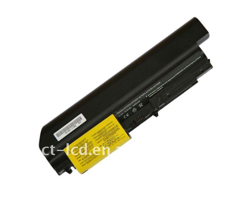 Replacement Laptop battery for IBM R61I