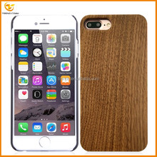 wholesale blank wood plastic phone case for iphone 7 plus