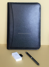 Organizer notebook zipper and calculator