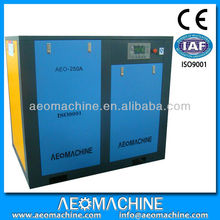 AEOMACHINE Twin Screw Air Compressor with Refrigerated Dryer