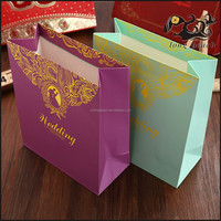 Nice Design Shopping Paper Bag,Wedding Packaging Candies Paper Gift Bag for Charcoal