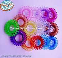 Factory supply colored hair elastic rings