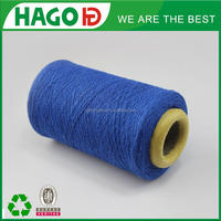 wenzhou open end melange colored knitting sock yarn mill