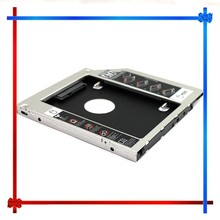 2nd Hard Disk Driver HDD Caddy For 9.5mm Universal CD/DVD-ROM Optical Bay SATA To SATA