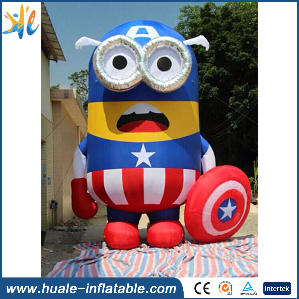 Factory price inflatable minions for advertising