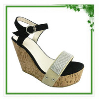 2014 Spring Summer Wedge Sandal Wholesale China Women Shoes