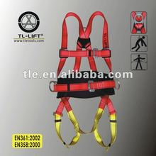 Back Support Safety Belt Attached Full Body Fall Arrest Safety Harness Made in China
