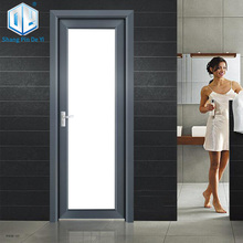 Aluminum europe style commercial bathroom swing doors