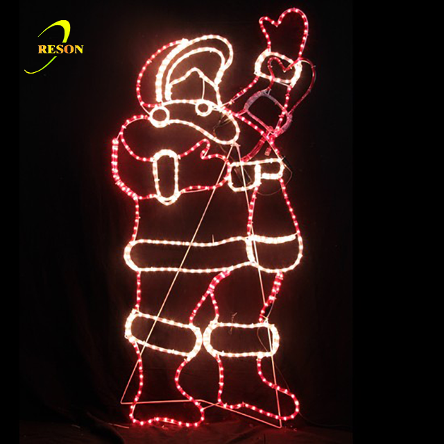 LED Christmas Motif Lights Display