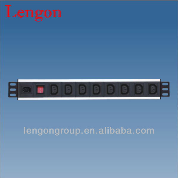 horizontal pdu c13 socket