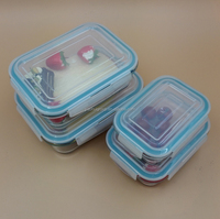 Microwave & Oven Safe Borosilicate Glass Heat resistant storage Containers