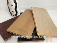 high quality wooden oak solid wood engineered floor