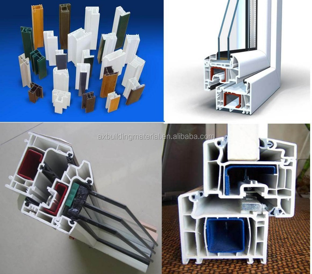 Double UPVC Casement Window/Double glass