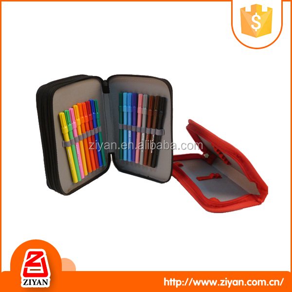 China suppliers cheap pvc pen packing pencil case for school student