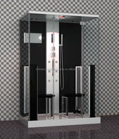 Acryl top and tray material 8 mm glass thickness shower cabin for 2 people