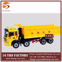 1 24 scale diecast model trucks with various color
