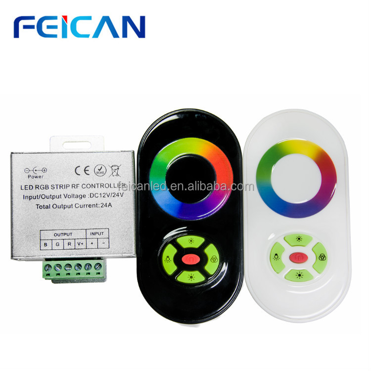 <strong>CE</strong>&RoHS RF Remote Led Touch RGB Controller for RGB Led Strips