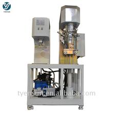 Hotsale customized pneumatic lift dispersion mixer for glass cement
