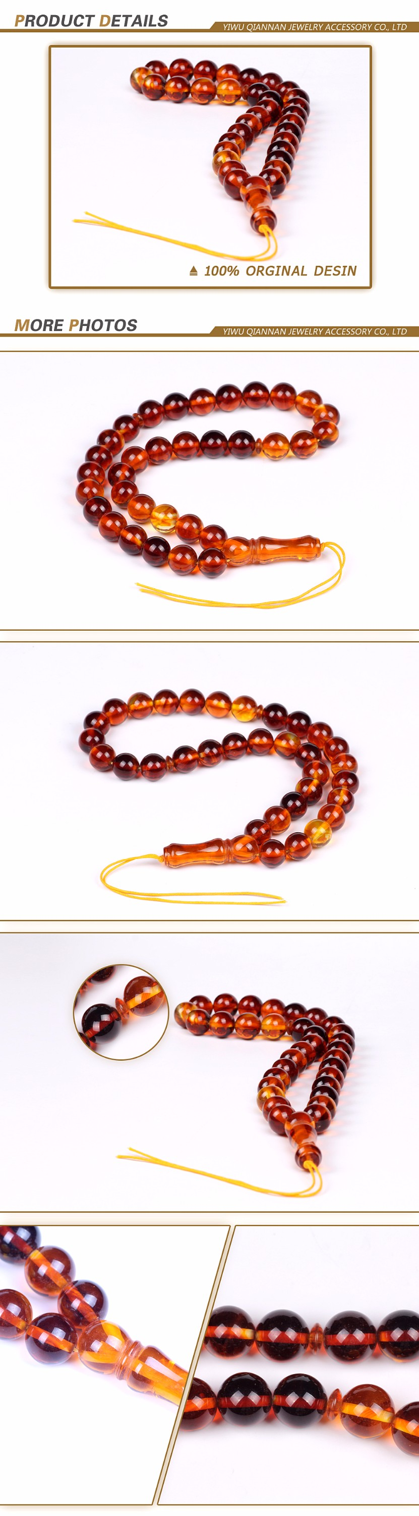 iridescent baltic amber different types of rosary prayer beads by handmade material of our fashion Crystal glass