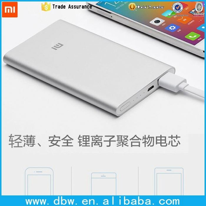 original xiaomi power bank 5000mAh xiaomi 5000 external battery charger pack portable charger Mi charger