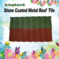 aluminium zinc steel roofing tile classic stone coated metal roof tile