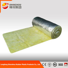 discount promotion of glass wool double side aluminum foil glass wool blanket