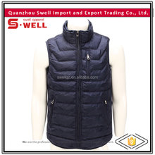 Fashionable style winter cheap price men quilted vest for sale