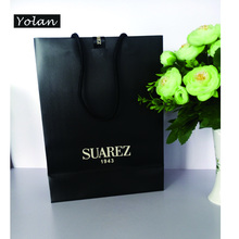 2016 HOT SALE PAPER BAG WITH LOGO PRINT