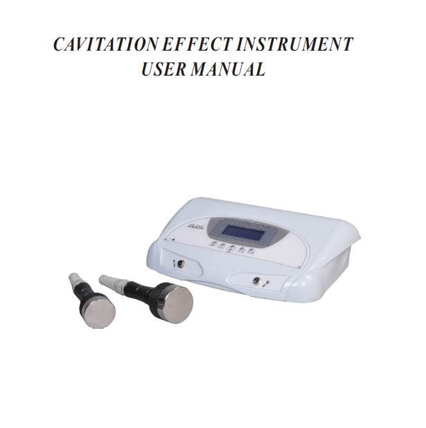 cavitation vacuum multiple beauty instrument