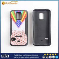 Fancy TPU Case With Skin Paste Craft For Samsung For Galaxy S5 mini