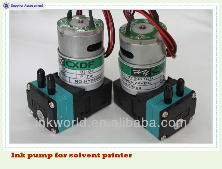 Spare printer parts:ink pump for Infinity Gongzheng Galaxy solvent printers