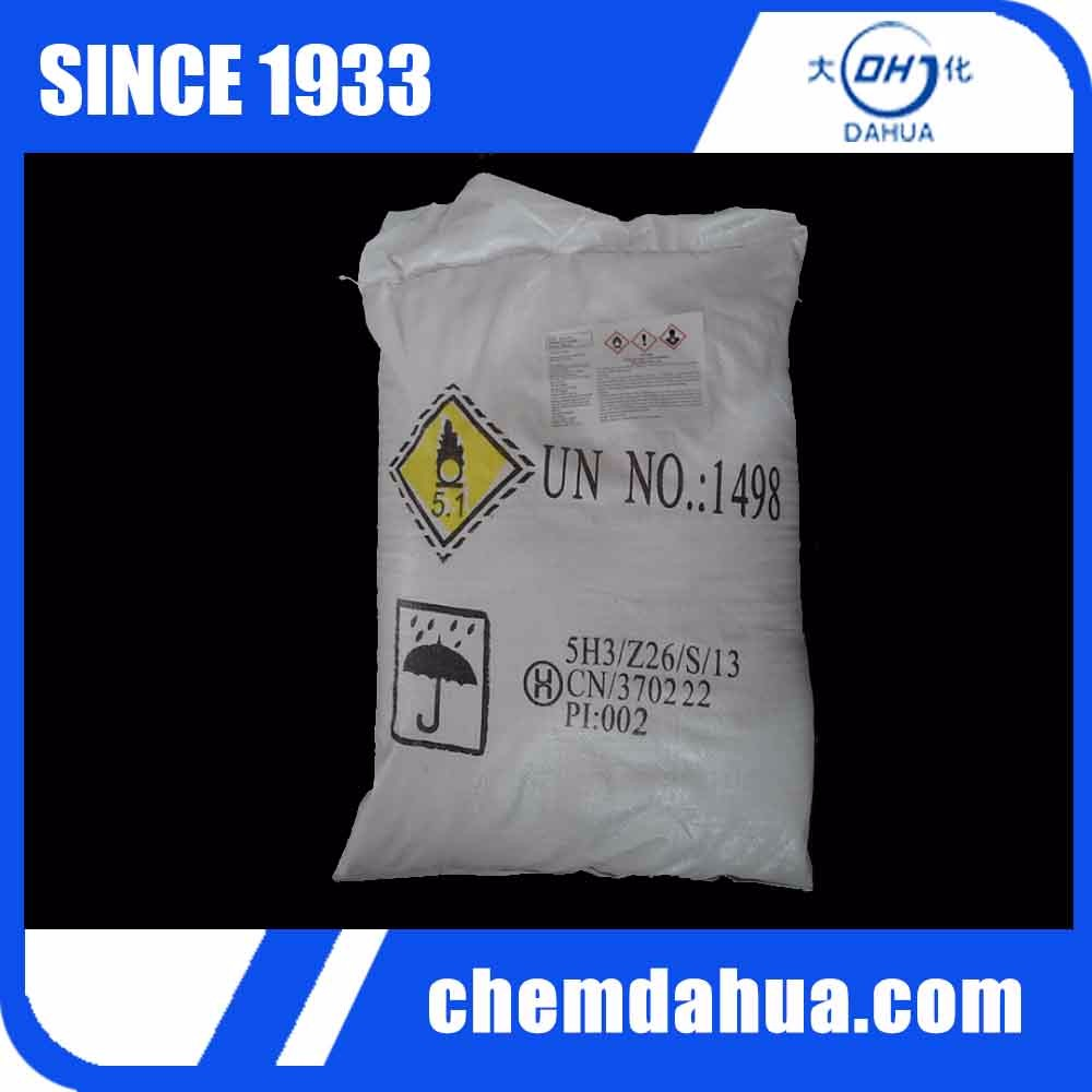 The Use of Sodium Nitrate, un 1498 Sodium Nitrates Granule, White Powder NaNO3