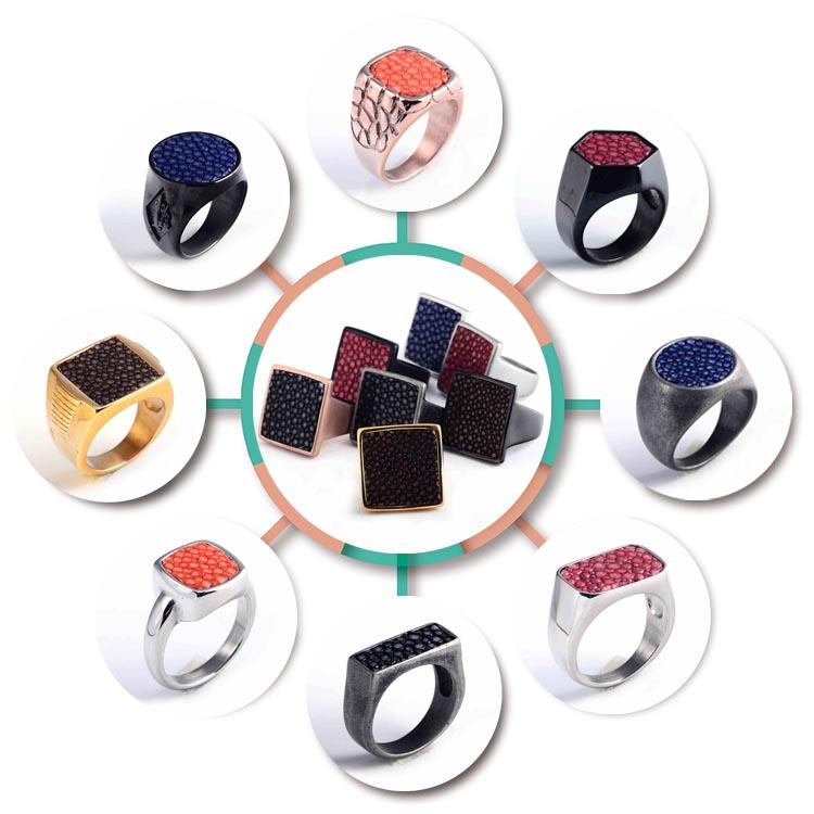 simple designs stainless steel finger ring for buy