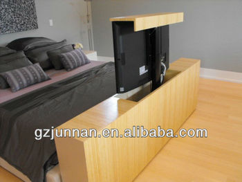bed tv lift motorized lcd tv lift with remote control. Black Bedroom Furniture Sets. Home Design Ideas