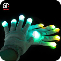 Direct Factory China Wholesale Glow in the dark Cheap Custom LED Gloves