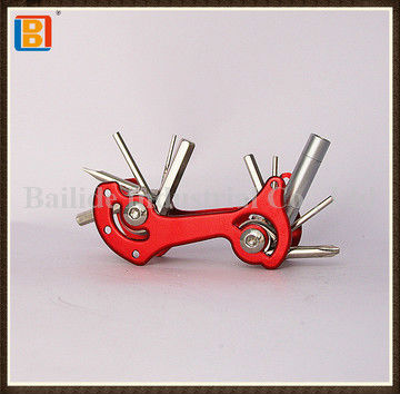 2017 Hot Selling Good Quality 10 In 1 New Multi Function Bicycle Tools Bike Tool Kit With Led