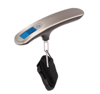 Black Color 10kg Capacity High Acuracy 5g Digital Hanging Luggage Scale,Popular Type Design,CE,RoHs Certificate Approval