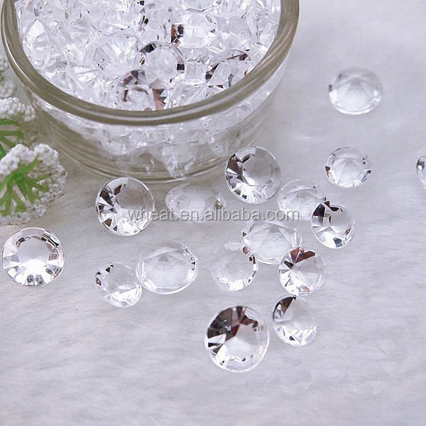 Table Scatter/Crystal Confetti/Wedding Decoration Acrylic Diamond