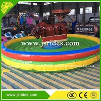 outdoor amusement park games mechanical rodeo bull ride kids game mechanical bull riding machine
