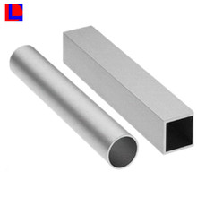 Extruded strong different colors round and rectangle anodized aluminum tube
