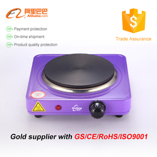 Latest 1000W Single Solid Burner hot plate stove electric stove