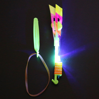 2017 top sale new design magic plastic led flashing toy Led Flying Umbrella//