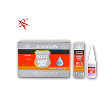 super fix glue within 3 seconds Safe Strong adhesive 502 Rapid bond Adhesive with 15g plastic bottle packing