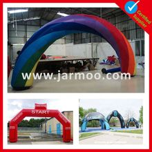 Outdoor newest inflatable arch from China Oxford or PVC material PVC or Oxford promotion show inflatable archway