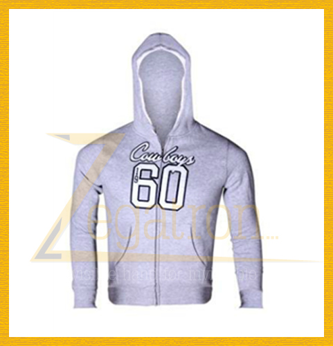Men's custom design printing zipper up fleece hoody jackets/sweatshirts