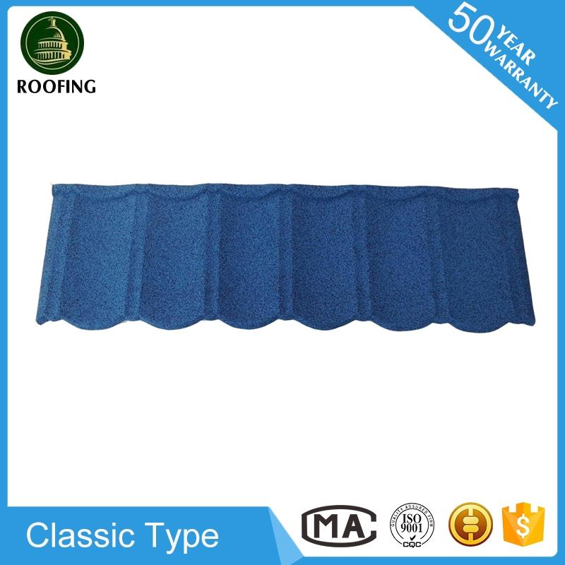 Wholesale Classic stone coated steel roofing tiles,building material with great price