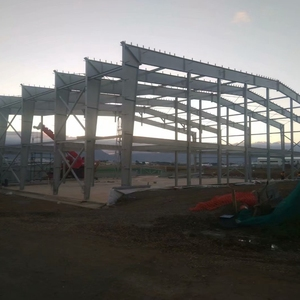 AISC/EN1090 Airport prefabricated steel structure hangar