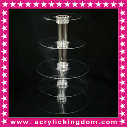 Tiers acrylic cupcake stand