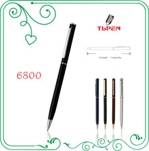 twist mechanism metal ballpoint pen wiht customed logo