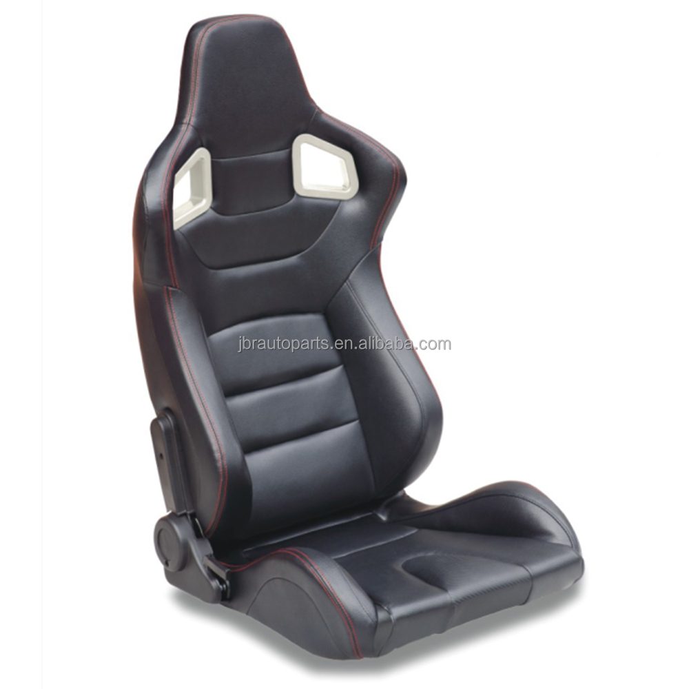 RECARO Racing Universal Sport Adjustable Auto PVC Leater Cover Car Racing Seat